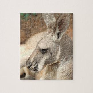 Kangaroo Profile Puzzle