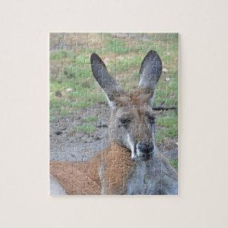 Kangaroo Jigsaw Puzzle