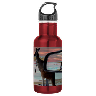 Kangaroo Sea Breezes, Aluminum Water Bottle 532 Ml Water Bottle