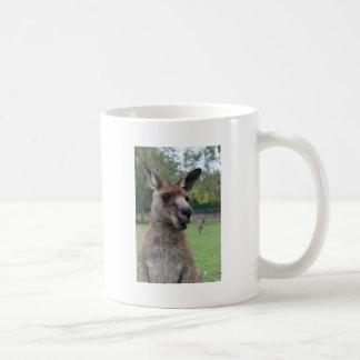 Kangaroo selfie coffee mug