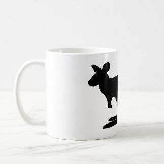 Kangaroo Silhouette Coffee Mug