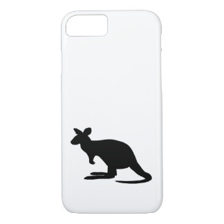Kangaroo Silhouette iPhone 8/7 Case