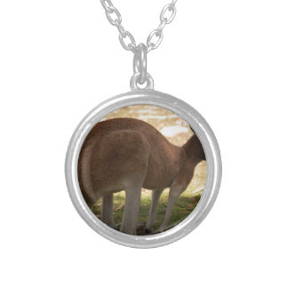 Kangaroo Silver Plated Necklace