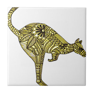 Kangaroo Small Square Tile