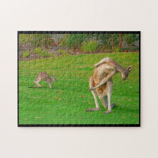 kangaroo stretch puzzle
