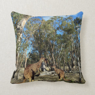 Kangaroo Talk Time, Throw Cushion. Cushion