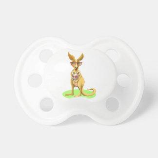 Kangaroo with glasses dummy