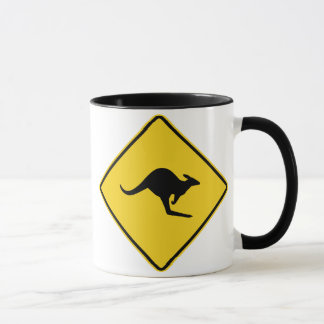 Kangaroo XING Sign Mug