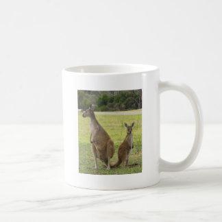 Kangaroos Basic White Mug