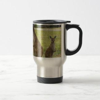 Kangaroos Stainless Steel Travel Mug