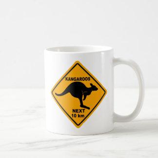 Kangaroos Next 10 km Coffee Mug