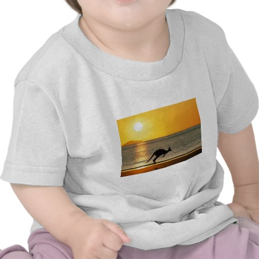 Kangaroos to the one for of the sun t shirt