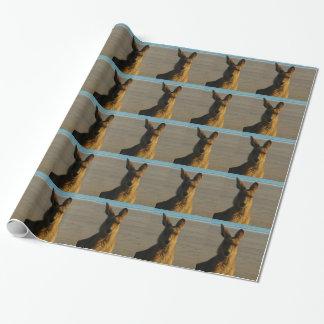Kangaroos Wrapping Paper