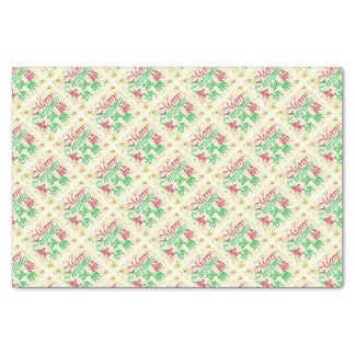 Kanji and English Tissue Paper