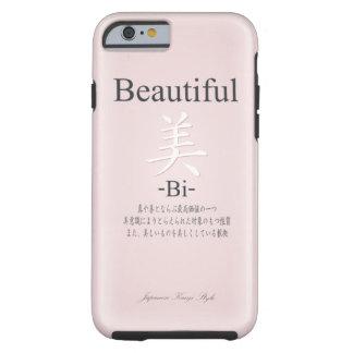 "< Kanji > ""Beautiful"" Typography Tough iPhone 6 Case"