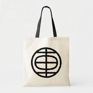 "kanji "" car "" tote bag"