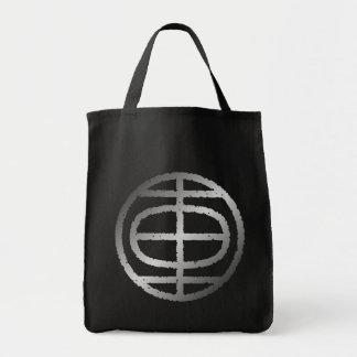 "kanji "" car "" grocery tote bag"
