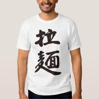 [Kanji] Chinese-style noodles T-shirts