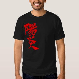 [Kanji] HEAT haze (red text) T-shirt