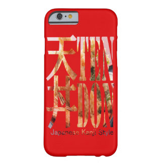 "< Kanji >Japaneese food ""TEN-DON"" Typography Barely There iPhone 6 Case"