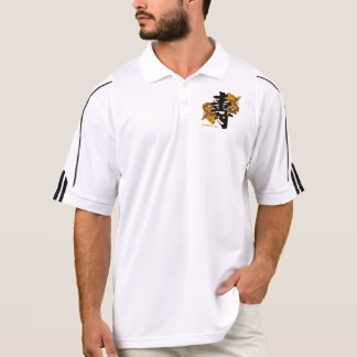 Kanji Koi Fish Longevity Polo Shirt