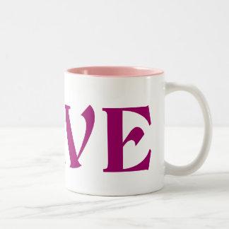 Kanji Love mug - choose style color