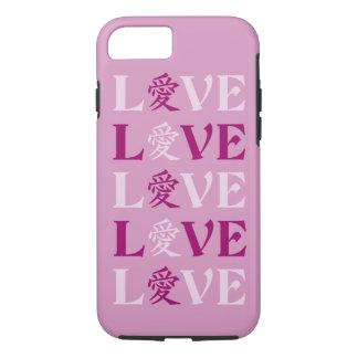 Kanji Love phone cases