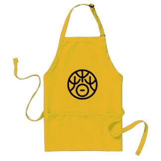 """kanji """" spring """" standard apron"""