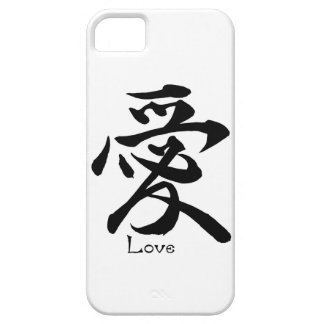 Kanji Symbol LOVE Japanese Chinese Calligraphy iPhone 5 Cases