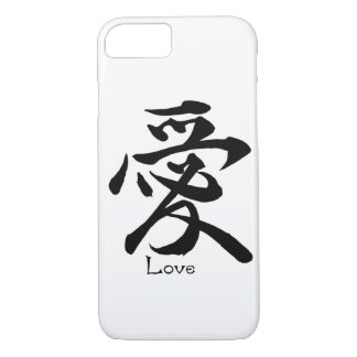 Kanji Symbol LOVE Japanese Chinese Calligraphy iPhone 8/7 Case
