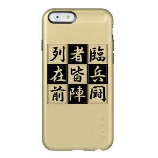 "<Kanji> Talisman ""KUJI-GosinBou "" Incipio Feather® Shine iPhone 6 Case"