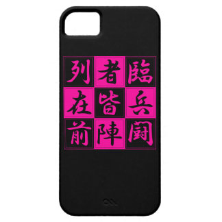 "<Kanji> Talisman ""KUJI-GosinBou "" iPhone 5 Cases"