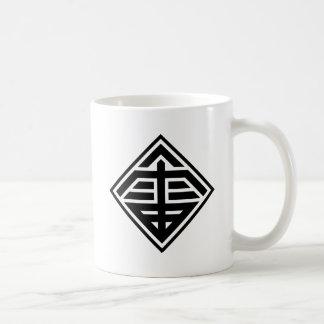 """Kanji """"thunder """" coffee mug"""