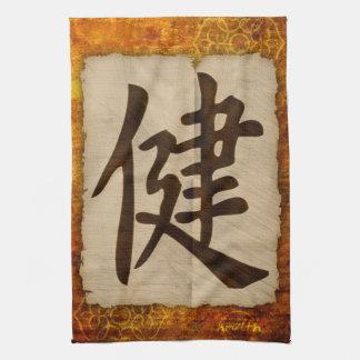 Kanji Zen Health Tea Towel