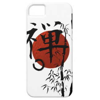 Kanji Zen with Enso and Bamboo Barely There iPhone 5 Case