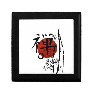 Kanji Zen with Enso and Bamboo Gift Box