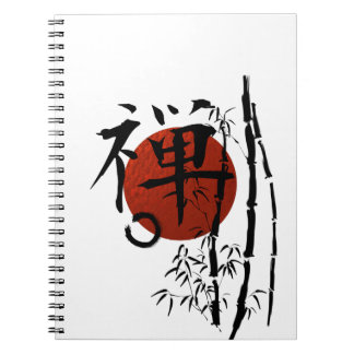 Kanji Zen with Enso and Bamboo Notebook