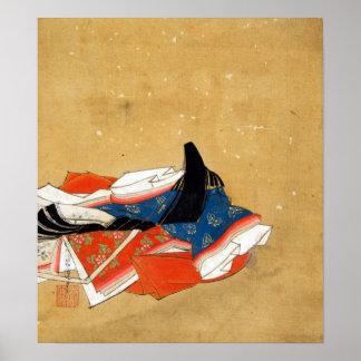 Kano Shōun Immortal Poet Poster