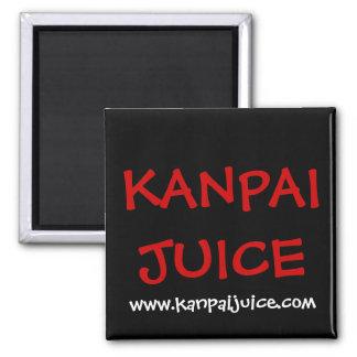 Kanpai Juice Square Magnet