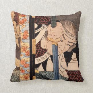 Kansaki Yagoro Noriyasu seen behind a transparent Cushion