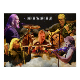 KANSAS Band Photo (2012) Poster