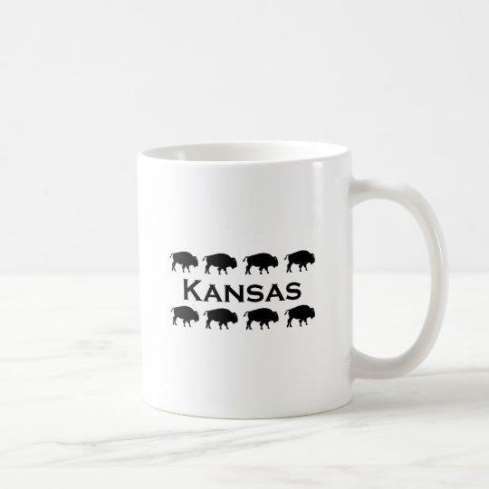 Kansas Bison Coffee Mug