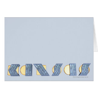 KANSAS (Blue and Gold) Card