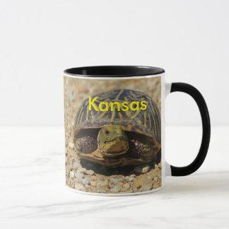 Kansas Box Shell Turtle Coffee Mug