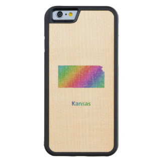 Kansas Carved Maple iPhone 6 Bumper Case