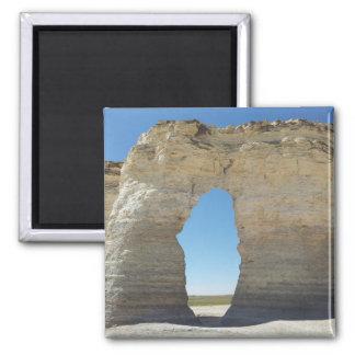 Kansas Chalk Pyramids Magnet