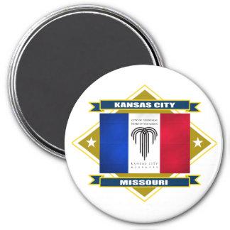 Kansas City Diamond 7.5 Cm Round Magnet