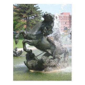 Kansas City Fountain Postcard