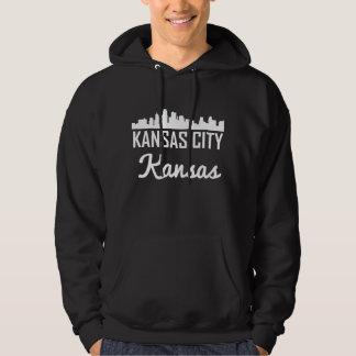 Kansas City Kansas Skyline Hoodie