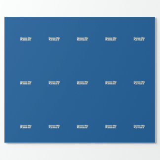Kansas City, Kansas Wrapping Paper